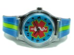 Kids Stripe Medical Alert Watch