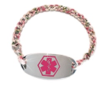 Bitty Floral Medical ID Bracelet