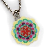 Fun Flower Girls Medical Necklace