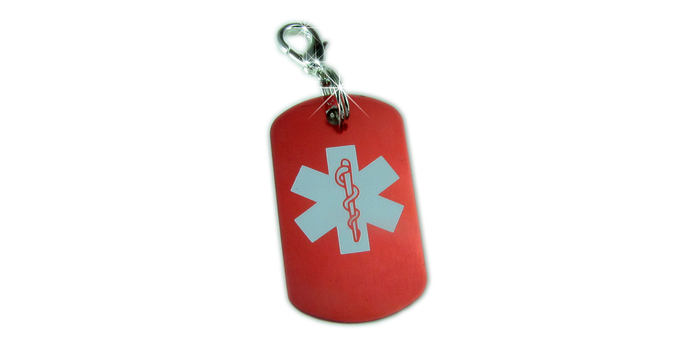 Medical ID Charms for Boys