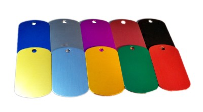 Medical Dog Tag Colors