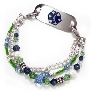 Carnival Medical ID Bracelet for Women