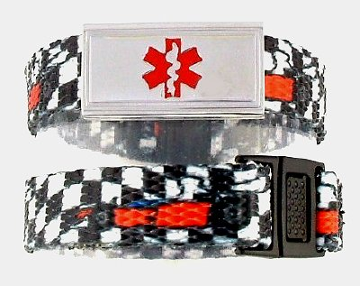 Speed Racer Medical ID Bracelet for Kids