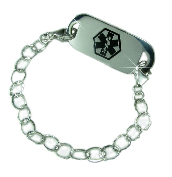 Medical Bracelets on Medical Id     Medical Id Bracelets     Hammered Medical Id