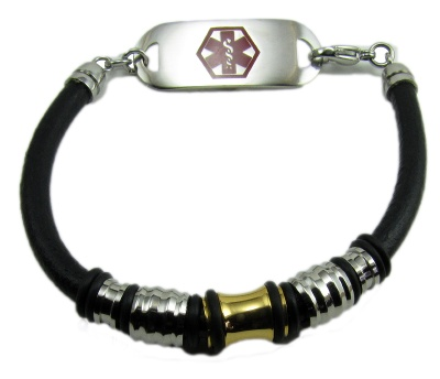 Men's Triumph Medical Alert Bracelet