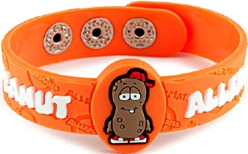 Peanut Allergy Wristband For Kids