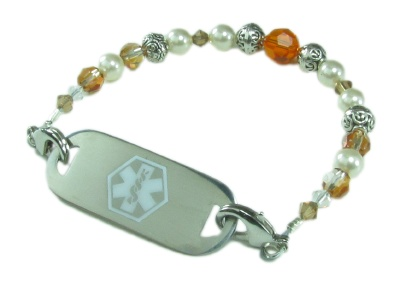 Our Sunset Medical ID Bracelet for Women