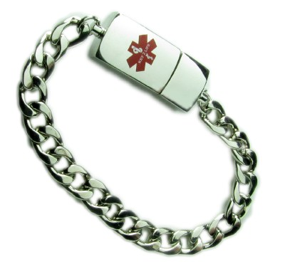 Fashion Alert: Gold and Silver Medical Alert Bracelets Are Hot