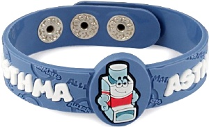 Asthma Wristband for Kids