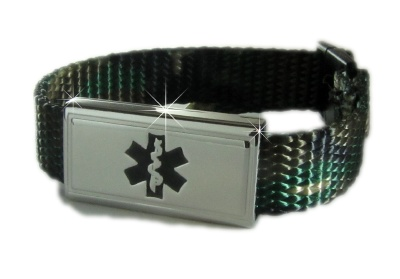 Camo Medical ID Bracelet for Kids