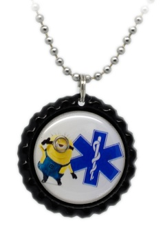 Fun 3 Medical ID Necklace for Kids