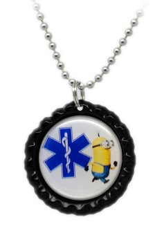 Fun 5 Medical ID Necklace for Kids