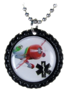 GeeBee2 Airplane Medical ID Necklace