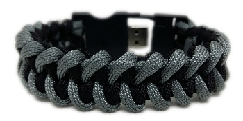Waterproof USB Medical ID Paracord Bracelet