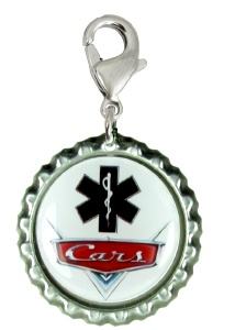 Car Grill Medical Id for Boys with Black EMS