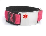 Raspberry Medical ID Bracelet