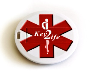 Medical ID USB Poker Chip
