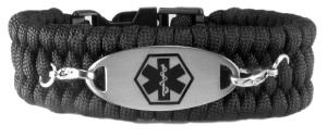 Paracord Medical ID Bracelet