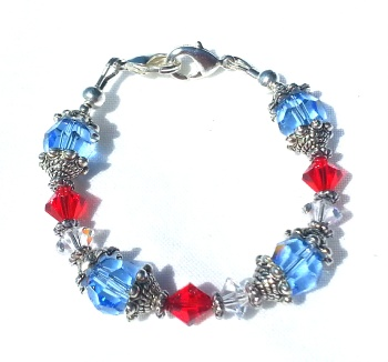 The Patriot Medical Bracelet for Women
