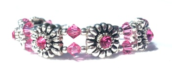 Pretty in Pink Medical Bracelet for Women