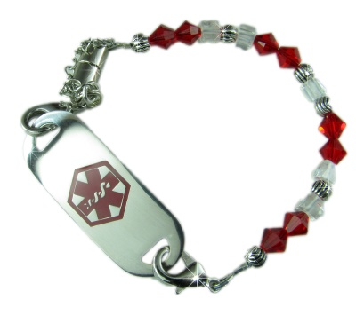Angelina Medical Bracelet for Girls and Women