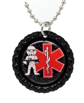 Force Trooper with Red Medical Logo
