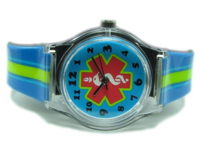 Stripe - Kid's Medical Alert ID Watch