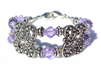 Violet Meadows Medical ID Bracelet for Women
