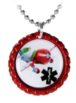 GeeBee Medical ID Necklace