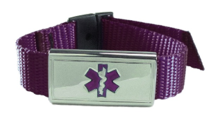 Purple Medical Sports Band