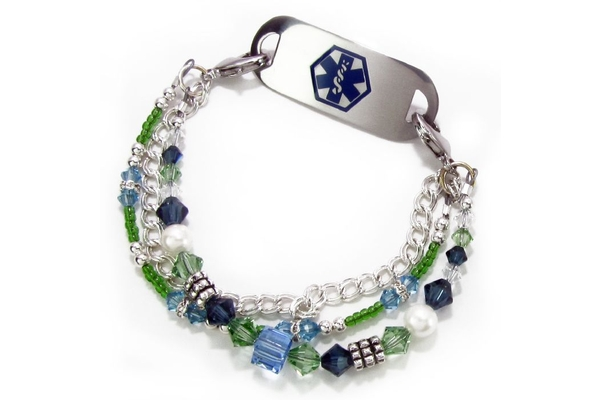 Womens Medical Alert Id Jewelry And Bracelets