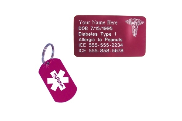 Medical ID Combo Sets for Women